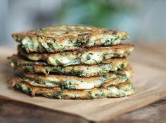 Superfrasiga zucchinibiffar utan gluten eller mejeriprodukter. Perfekt tillbehör för hela familjen! Servera med en kall koriandersås eller hummus.
