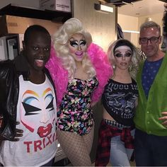 Tracy giving you Galápagos Islands realness. Morgan serving early 2000's Lil Kim music video background dancer. Bob doing marketing assistance for Trixie Mattel. Tempest the proud dad who came to watch his daughters turn out the show but winds up feeling uncomfortable because of the sexual nature of their gigs.