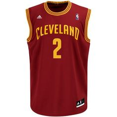 Kyrie Irving Cleveland Cavaliers Wine Replica NBA Jersey