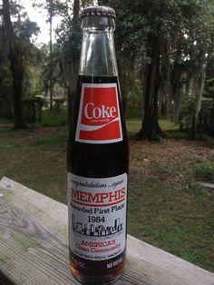 1984 Memphis Coke Bottle on Etsy, $10.50