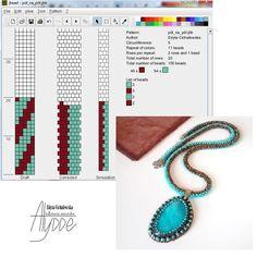 Bead Crochet Patterns, Bead Crochet Rope, Beaded Jewelry Patterns, Bracelet Patterns, Beading Patterns, Crochet Beaded Necklace, Crochet Bracelet, Bead Jewellery, Seed Beads