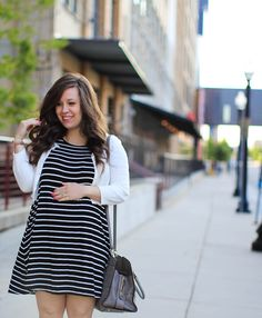 Maternity stripes for the summer!