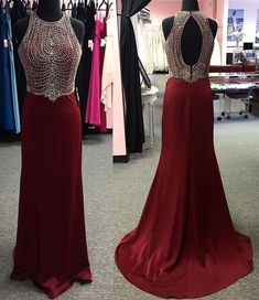Cute Prom Dress, Burgundy Satin Long Mermaid Prom Dresses Sexy Floor Length Party Dresses Beaded Open Back Evening Formal Gowns for Women Prom Dress UK Gold Prom Dresses, Prom Dresses For Sale, Mermaid Prom Dresses, Sexy Dresses, Party Dresses, Homecoming Dresses, Beaded Dresses, Wedding Dresses, Shower Dresses