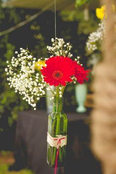 ¡Únete a las ideas DIY! ¿Buscas la decoración ideal para tu matrimonio? Créditos: Dianne Díaz
