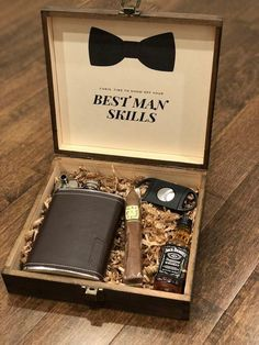 Personalized Groomsmen Cigar Gift Box for the Best Man Personalized Groomsmen Cigar Gift Box for the Best Man FREE Groomsmen Gift Box, Groomsmen Proposal, Groomsman Gifts, Ask Groomsmen, Groomsmen Gifts Unique, Bridesmaid Proposal, Unique Gifts, Cigar Gifts, Whiskey Gifts