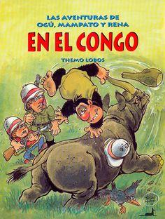 Themo Lobos | Las aventuras de Ogú, Mampato & Rena | En el Congo
