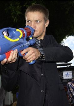 Jeremy Renner at SWAT premiere