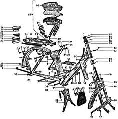 velosolex partie cycle