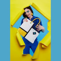 OMG! This bag is so cool!   #girlslovebluebotton #gabs #gabskorea #gabsginza #gabsofficial #gabsborseeaccessori #gabsborse #bagshop #accessories #bag #bags #Italian #Fashion #design #creative #style #styles #stylish #Colore #Colori #Colors #Colours #Smile #Fun #Happyness #bepositive #positivevibe #funny #ironic