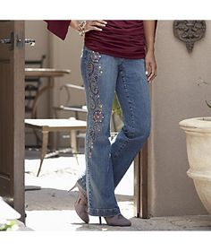 Monroe and main on pinterest applique skirt embroidered jeans and