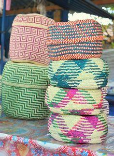 Oaxaca Baskets Mexico by Teyacapan, via Flickr