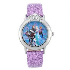 Ceas de mana pentru copii. Model Disney #Frozen