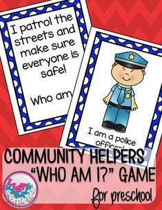 Community Helpers Comprehension Activity by Lisa Markle Sparkles Clipart and Preschool Fun Community Helpers Lesson Plan, Community Helpers Kindergarten, Community Helpers Activities, In Kindergarten, Preschool Themes, Preschool Lessons, Preschool Social Studies, Preschool Teachers, Preschool Printables