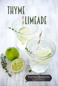 Thyme Limeade | Soot