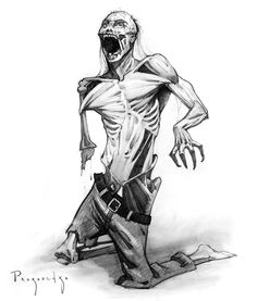 Halloween is here, so... Zombies. Let's use what we've learned in the anatomy course to draw the walking dead. #proko #drawing #zombies