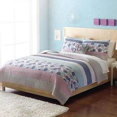 Home Classics® Statements Kennedy Reversible Quilt - Twin