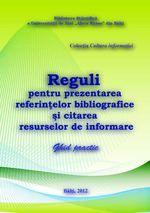 Reguli pentru prezentarea referinţelor bibliografice şi citarea resurselor de informare : Ghid practic Digital Magazine, Public, Author, Personalized Items, Books, Livros, Book, Writers, Livres