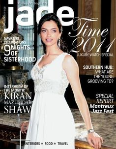 Deepika Padukone, Jade Magazine [India] (September 2011)