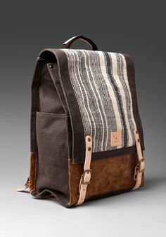 mens accessories – High Fashion For Men Canvas Backpack, Backpack Bags, My Bags, Purses And Bags, Books And Tea, Sac Week End, Cute Backpacks, Leather Backpacks, Leather Bags