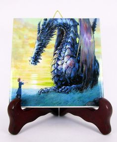 Tales from EarthSea Ceramic Tile HQ Made in by TerryTiles2014