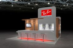 Rayban @ Baselworld by Craig Sherwood, via Behance