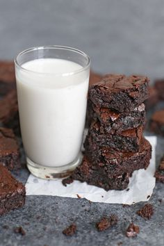 Just a few simple techniques make these the perfect gluten free brownies. Fudgy, rich, and delicious!