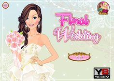 Nadszedł wielki dzień dla dziewczyny! Piękność wychodzi za mąż i musi wybrać fajną sukienkę oraz dodatki. http://www.ubieranki.eu/ubieranki/9671/wesele-z-kwiatkami.html
