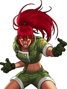 King of Fighters 98 UM OL Orochi Leona by hes6789 on DeviantArt