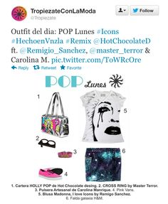 Tropiezate con la moda tweet (@Tropiezate), fashion suggestions - 2012 - Venezuela #hotchocolatedesign #handbag #cartera #moda #fashion #hcd