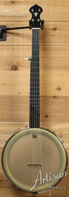 Huss and Dalton Singletree 5 String Banjo with Dobson Tone Ring | Artisan Guitars