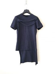 HELMUT LANG ヘルムートラング '04SS Bondage T-shirt シャツ XS t-shirt with bondage strips and bum flap • helmut lang 8,000円