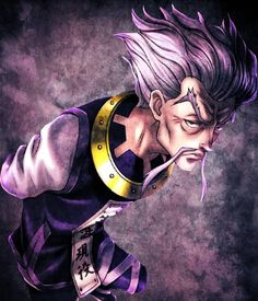 // Corrected the wrong recolor on the shoulder. yea i decided to change the jacket color when i was done > From the anime hunter x hunter This. Zeno Zoldyck, Hisoka, Killua, Old Anime, Anime Guys, Manga Anime, Hunter Anime, Hunter X Hunter, Silva Zoldyck