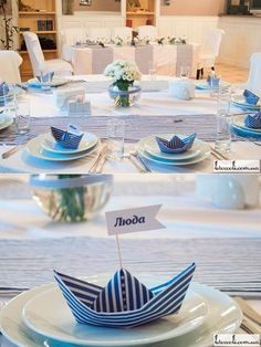 Fiesta marinera Fiesta marinera Fiesta marinera # seafoodmacandcheese The post Fiesta marinera Fiesta marinera Fiesta marinera # seafoodmacandcheese appeared first on Platinium Moda. Nautical Wedding Theme, Nautical Party, Wedding Themes, Party Themes, Wedding Decorations, Table Decorations, Ideas Party, Baby Shower, Bridal Shower