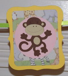 Mini Jungle WELCOME BABY Banner  READY To SHiP by APaperPlayground