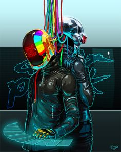 obviouswinner:    Daft Punk: Ease the Beat by denimecho