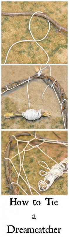 Make a dream catcher- tutorial                                                                                                                                                                                 More