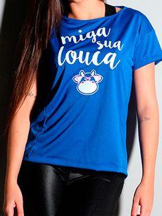 A t-shirt Luciana é ideal para a prática de exercícios pois seu tecido de fabricação absorve e elimina o suor, levando conforto à peça. No site da Lingerie BR você encontra a t-shirt Luciana com uma variedade de cores e estampas , confira