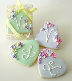 Pretty cookies ❥ via #martablasco ❥ http://pinterest.com/martablasco/