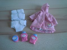 Baby Born Mini World Bade und Wickel Set
