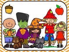 Joy of Kindergarten: Fall Clip Art Set