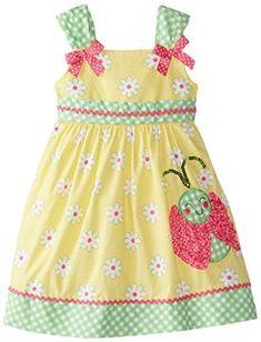 Nannette Little Girls' Lady Bug Printed Poplin Dress, Yellow, 4T Nannette http://www.amazon.com/dp/B00UX7WYDQ/ref=cm_sw_r_pi_dp_PR-.wb17NM801