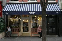 Murrays bagels   500 Sixth Ave., New York, NY10011  nr. 13th St