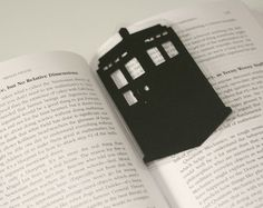 Doctor who bookmark!!