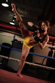 A great way to relieve mental stress is using the benefits of #kickboxing by releasing all those pent up frustrations with a high energy routine.