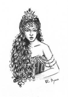 Christine Daae. By Flávia Marques.