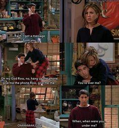 Ross Geller and Rachel Green Friends Show, Serie Friends, Friends Moments, I Love My Friends, Friends Forever, Ross Friends, Friends Ross And Rachel, Life Moments, Ross Geller