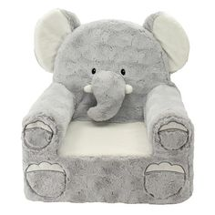 Adorable Animal Adventure Sweet Seat double as adorable room decor and as a super comfy pal for Baby's First Birthday!