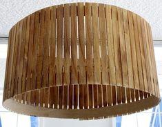 Stir Stick Lampshade DIY