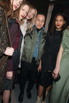 Backstage at 3.1 Phillip Lim Fall 2015 Ready-to-Wear