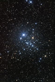 #MagicalUniverse - an open cluster #NGC457 in #Cassiopeia | NGC 457 is an open cluster constellation Cassiopeia. It is estimated that is about 9,000 light years from Earth. Its apparent magnitude is +6.4. It is one of the brightest open clusters that are not included in the Messier catalog. In amateur astronomy it is known as the Owl Cluster or Cluster...